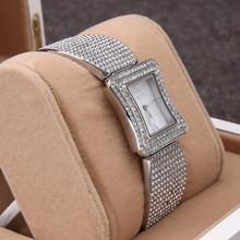 Geneva Watch Full Steel Watches Women dress Rhinestone Analog wristwatches women Casual watch 2014 Ladies Unisex
