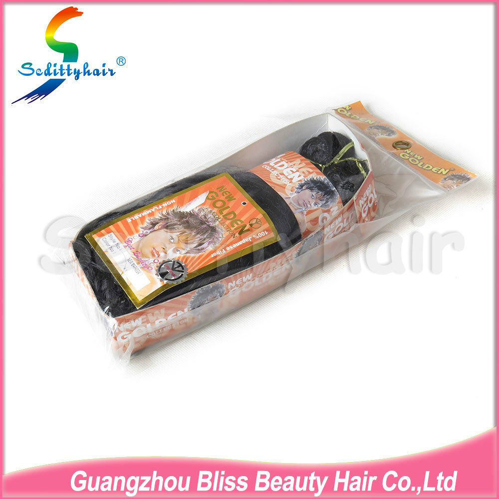 Free shipping alibaba china supplier tangle free curly synthetic hair for braiding(China (Mainland))