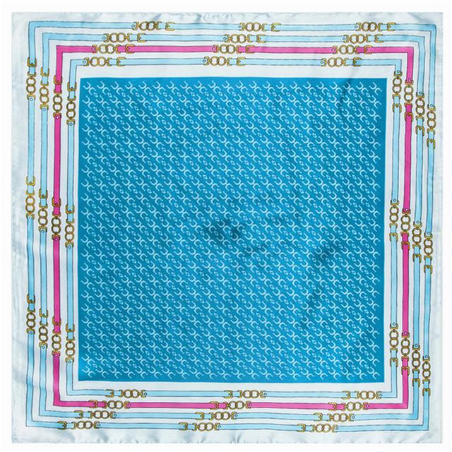 60 см * 60 см 2016 новый ремень шаблон письма счастья у женщин шелковый шарф небольшой шарф 60 см оптовая продажа
