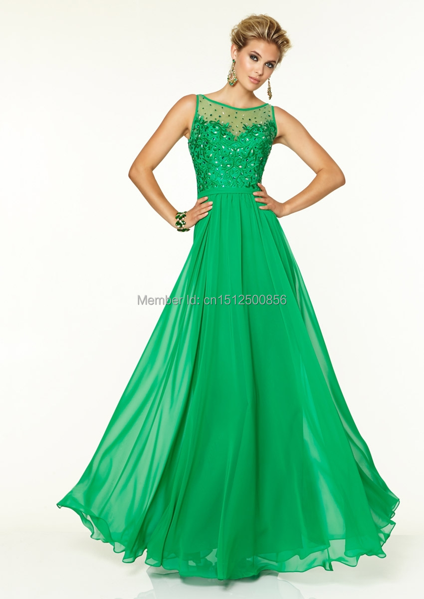 Junior long emerald green chiffon bridesmaid dress wedding for Emerald green dress wedding guest