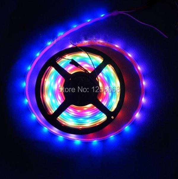20M 5050 SMD RGB WS2812 2812 WS2812B LED Strip Light LED Light Rolls 5V DC free shipping by fedex(China (Mainland))