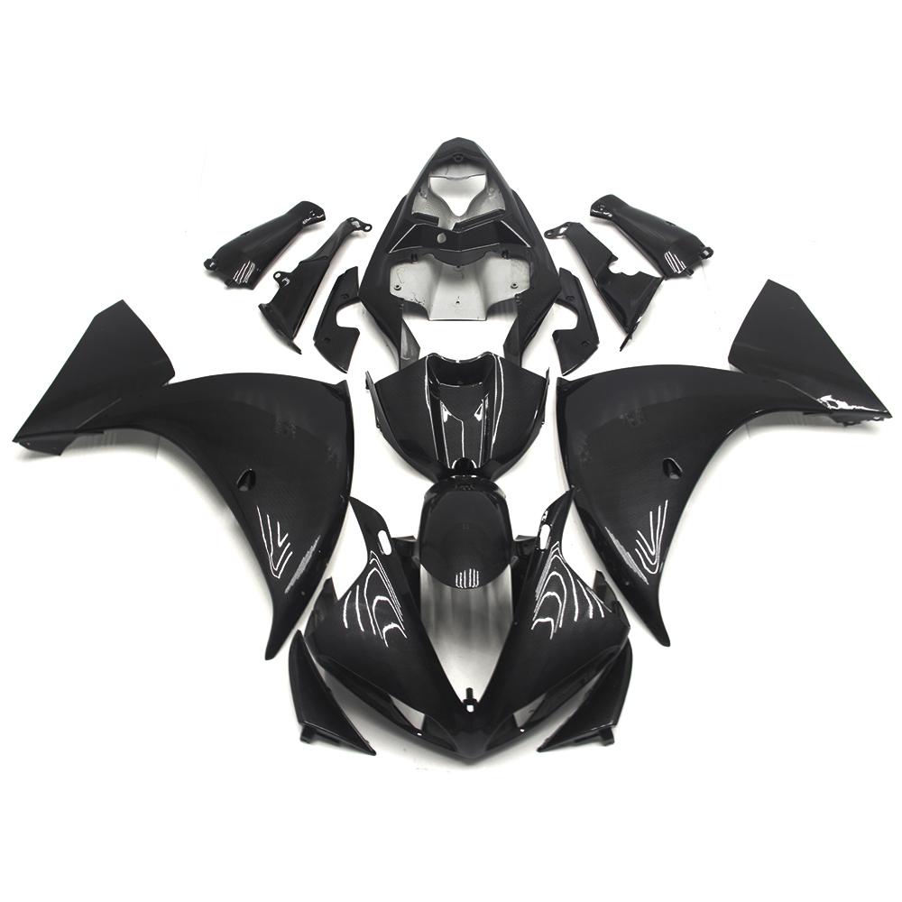 ABS Plastics Fairings For Yamaha YZF1000 R1 09 10 11 2009 - 2011 Motorcycle Fairing Kit Bodywork Cowling Carbon Fiber Color New(China (Mainland))