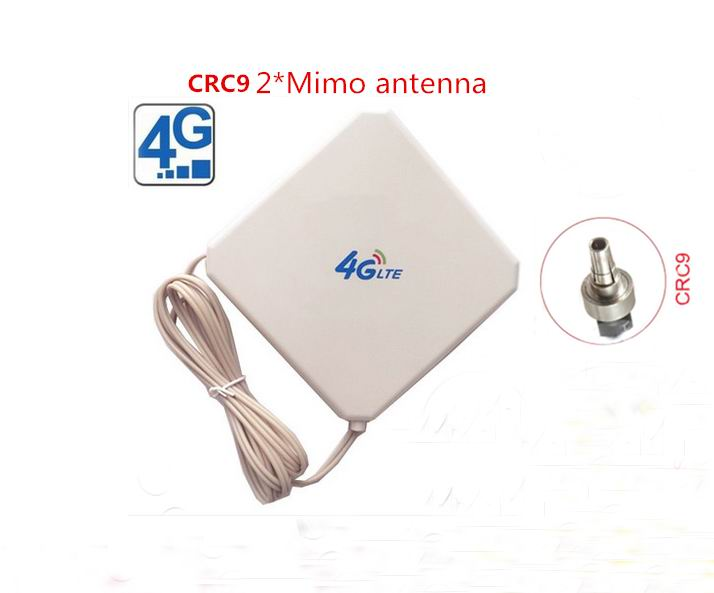 LTE 4G full band 700-2700MHZ magnetic base antenna 35dBi 4g indoor signal wifi antenna with CRC9*2 connctor(China (Mainland))