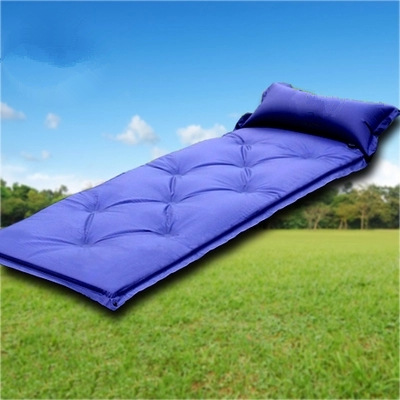 Фотография Hot Portable Outdoor Camping Travel Cotton Sleeping Bag Blue Color Sleeping Bags For Camping