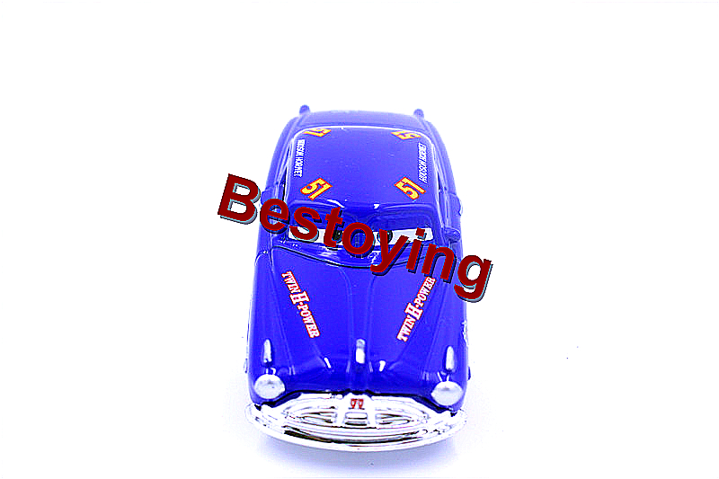 Pixar Cars 2 DOC Hudson Fabulous Hornet 51 1:55 Scale Diecast Metal Alloy Modle Toys For Children Gifts by Registered Mail(China (Mainland))