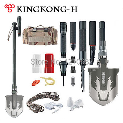 Набор для путешествий Kingkong DHL, kingkong-H outdoor survival portable pocket hand saw chain black