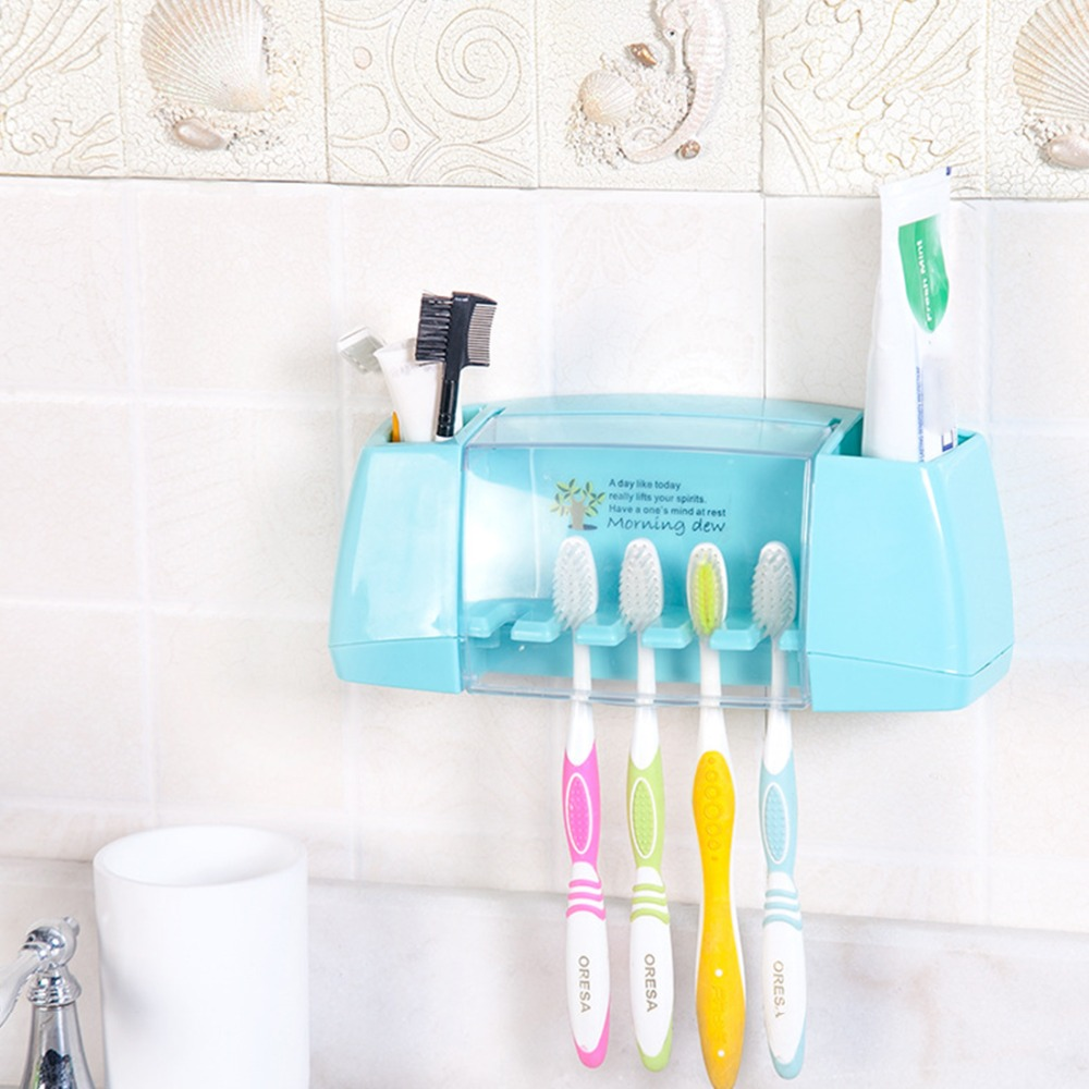 Kids toothbrush holders promotion shop for promotional for Bath accessories holder