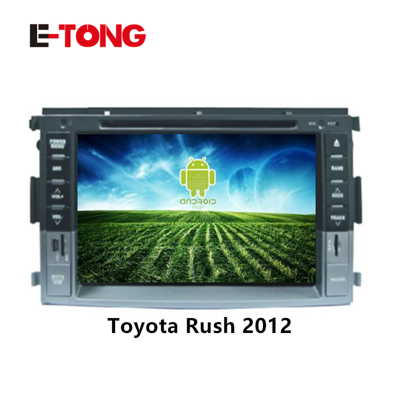 2 din 6.95'' TOYOTA RUSH car dvd player with GPS touch screen ,steering wheel control,ipod,stereo,radio,usb,BT1(China (Mainland))