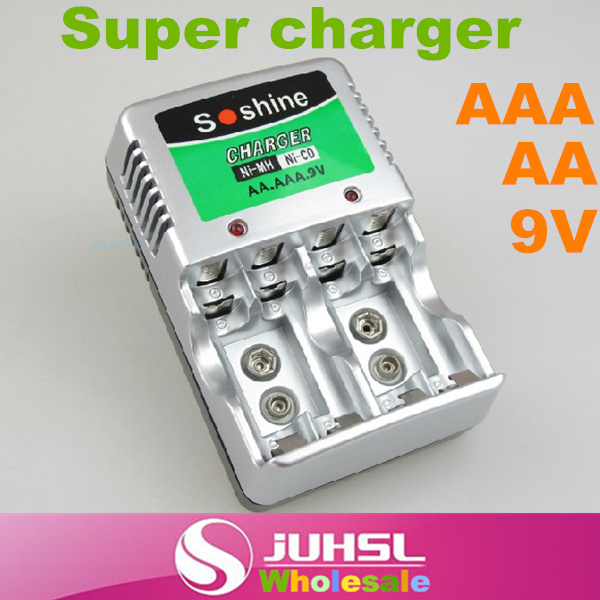 Multifunctional super charger, soshine SC-Z23, applicable AA AAA 9V ni-mh rechargeable battery,Chargers,Consumer Electronics(China (Mainland))