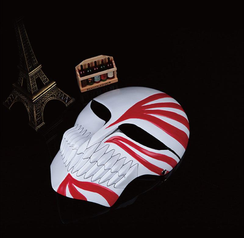 1pcs/lot BLEACH Kurosaki Ichigo Mask Resin High Grade Cosplay Party Full Face Masks For Collection(China (Mainland))