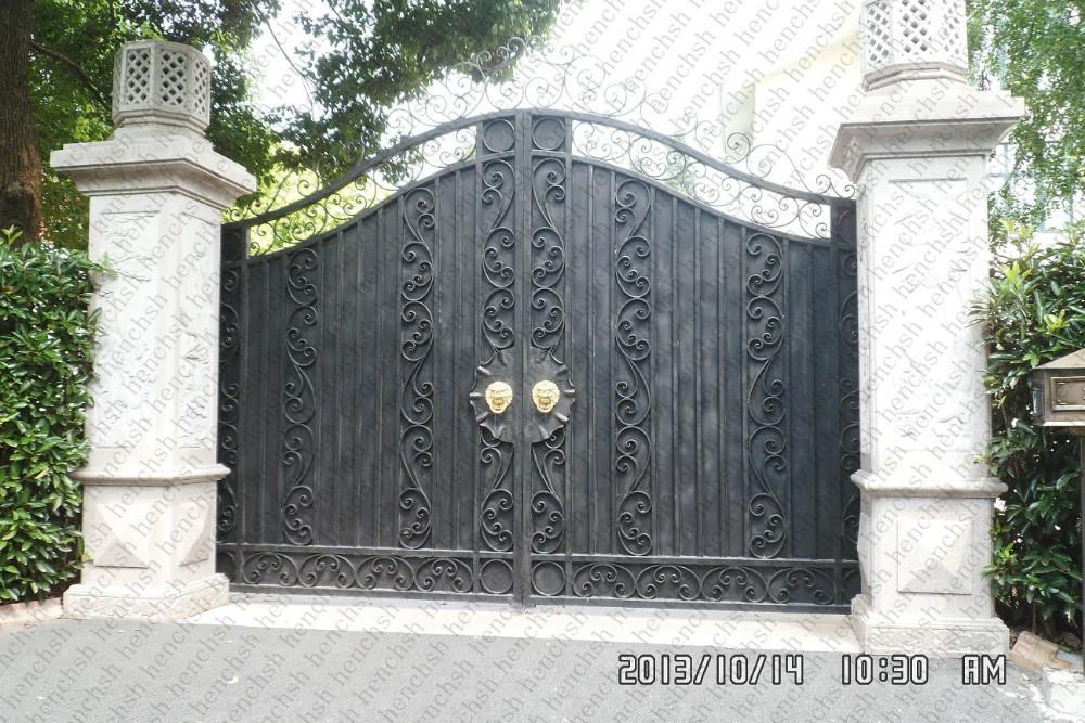 Custom wrought iron gate villa wrought iron gates ig -26<br><br>Aliexpress