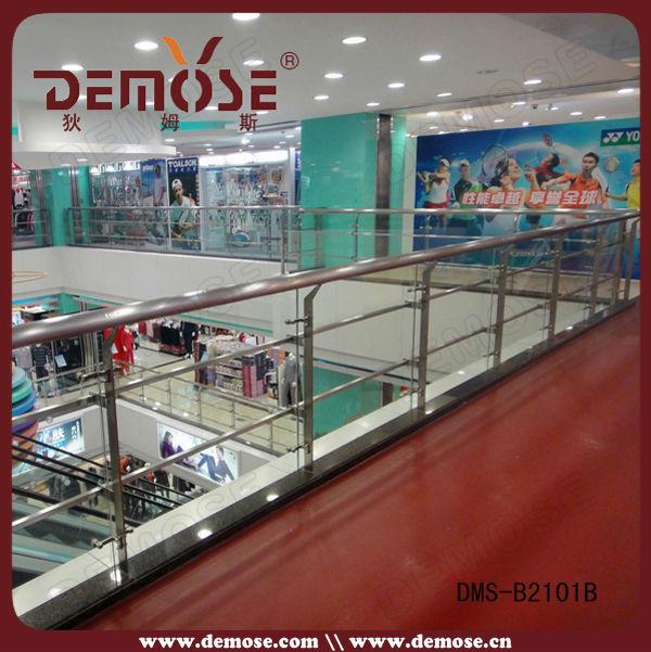 Staal en glas leuning veranda decoratie in glazen balustrade producten product beschrijving - Veranda decoratie ...