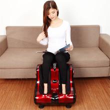 Electric Feet Leg Massager Vibration Reflexology Foot And Calf Massage Machine Heated Shiatsu Foot Massager DeviceFoot Gua Sha(China (Mainland))