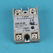 Buy solid state relay SSR-25DD 25A actually 3-32 DC TO 5-60 DC SSR 25DD relay solid state for $2.35 in AliExpress store