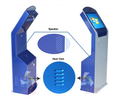 flexible and free stand custom self service payment terminal atm kiosk with thermal printer optional(China (Mainland))