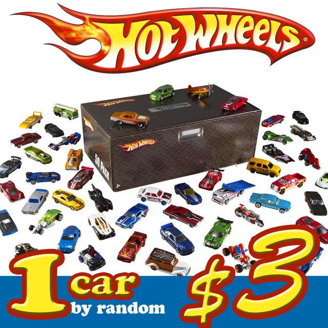 1 car 100% Hotwheels Cars C4982 Random hot sale Original race cars scale models mini alloy cars toy for boys hobby collection(China (Mainland))