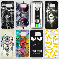 Case For Samsung Galaxy S7 Edge G9350 Colorful Printing Drawing Plastic Phone Cover for Samsung Galaxy S7Edge Hard Phone Case