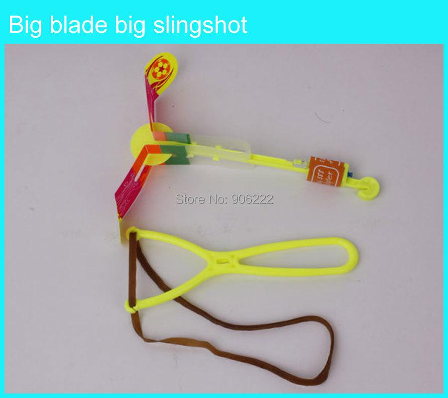 Amazing Arrow Helicopter, rubber band powered led arrow helicopter, led light arrow helicopter kid toy,led slingshot toy(China (Mainland))