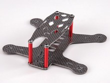 BeeRotor 130MM Carbon Fiber Mini FPV Racing Frame FPV Racing Drones Kit BR130 Freeshipping