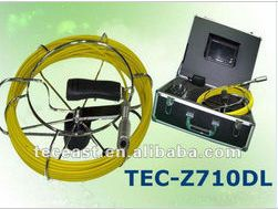 Underwater Camera system sewer detect camera with 512 transmitter TEC-Z710DL(China (Mainland))
