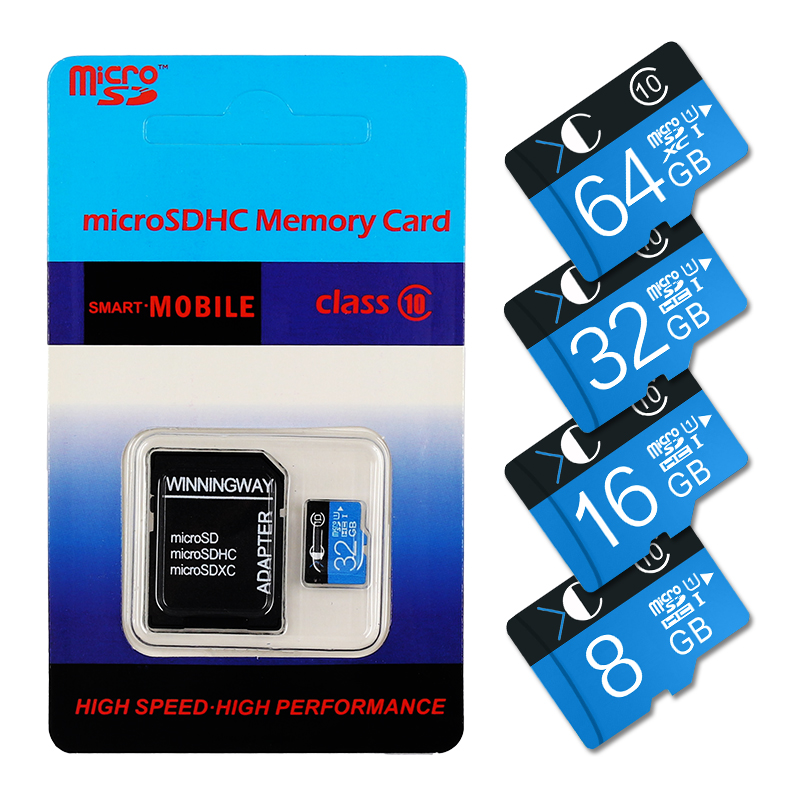 4GB 8GB 16GB 32GB 64GB Hot blister package Memory card flash card micro sd card 32gb class 10 real capacity free adapter fast(China (Mainland))