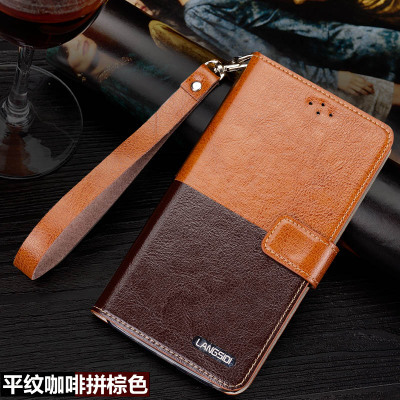 High quality and low price LDS genuine leather cover for OPPO R5 phone case for OPPO R5 cover free shipping(China (Mainland))
