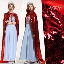 """Gorgeous Sequin Satin Full Length Cloak Cape 71"""" Beauty Contest Pageant Coat Wedding Party Prom Poncho Multi-color(China (Mainland))"""