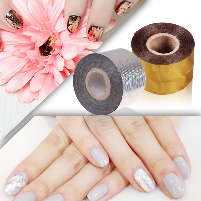 Gold Foil Nail Stickers - Best Nail 2018