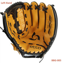 Etto BBG-005 General Baseball Glove Softball Glove Size 11.5/12.5Left Hand for Adult Man Woman Training(China (Mainland))