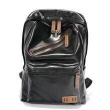Buy PU backpacks 2017 new shoulder bag backpack female retro bag large capacity women bag men backpacks for $66.99 in AliExpress store
