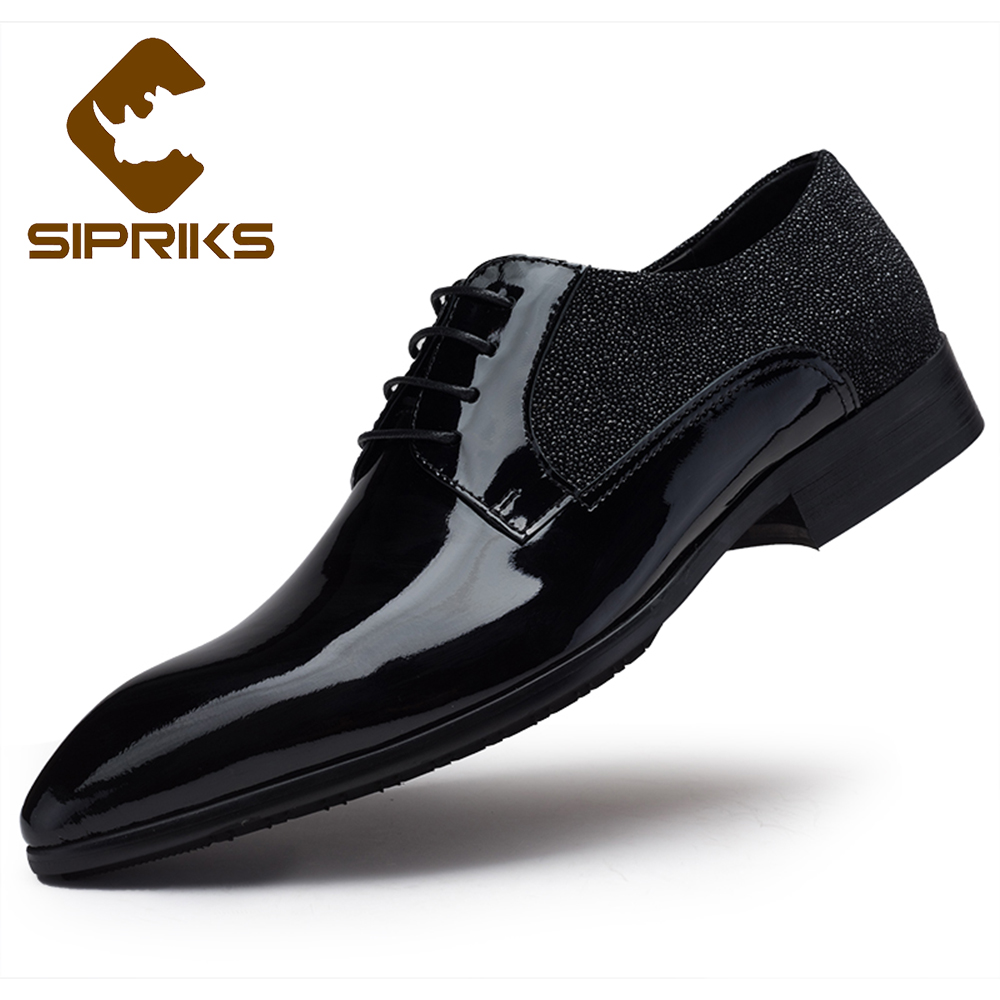 get cheap shiny black dress shoes aliexpress