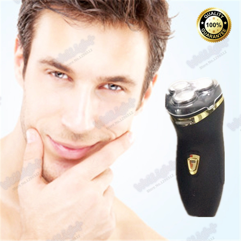 Black washable rechargeable electric shaver, beard shaver razor for men shaving machine face trimmer barbeador(China (Mainland))