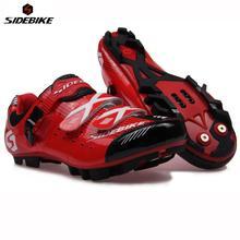Sidebike Professionelle Mountainbike Racing selbstsichernde Schuhe Leichte Fahrrad Radfahren MTB Schuhe Outdoor Sportler Schuhe(China (Mainland))