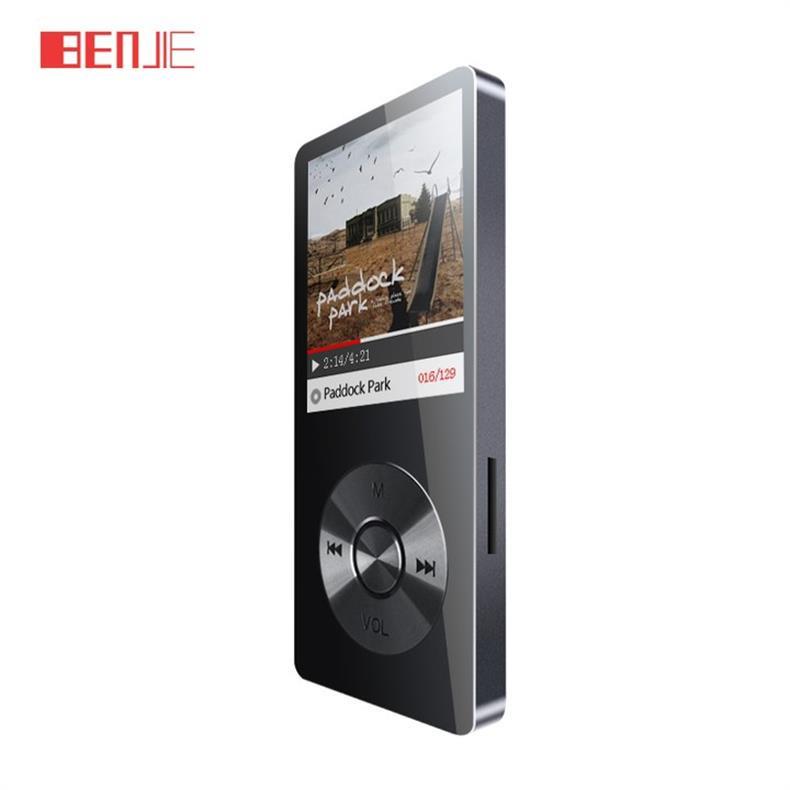 Купить 2016 Сплав Спорт Спикер MP3 Плеера Benjie K9 с 8 ГБ 1.8 Дюймов Экран 60 h Высокое Качество Lossless Привет-fi Диктофон FM