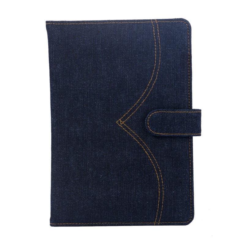Denim Fashion Notebook Cover Travel Notebook Holder Vintage Style High Quality Notebook Folder School Supply Office Accessories<br><br>Aliexpress
