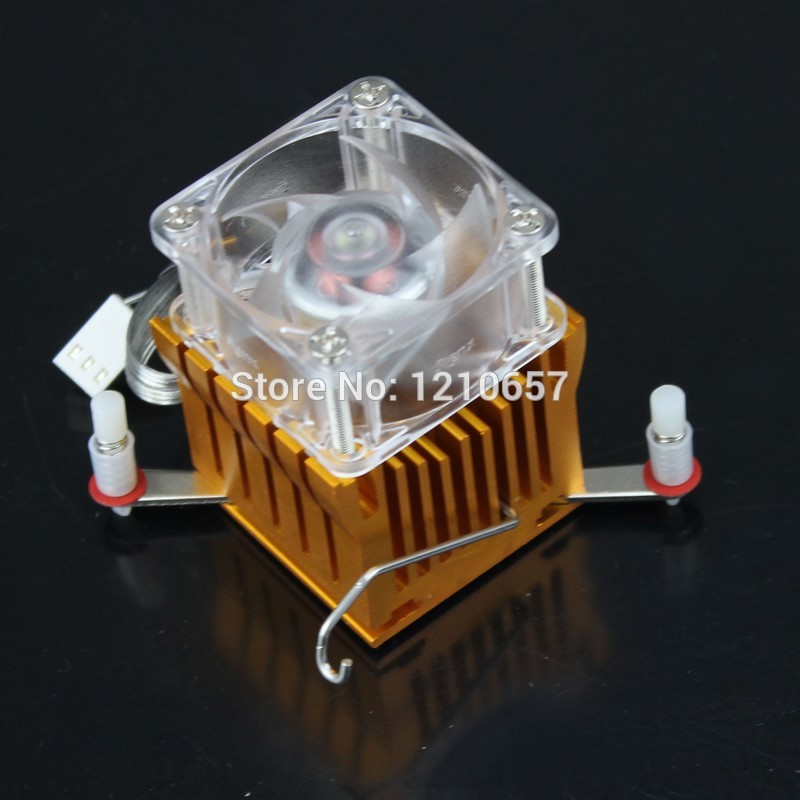 2 pieces lot Aluminium Adjustable Heatsink Fin Fan Cooler For PC Northbridge Chipset Cooling(China (Mainland))