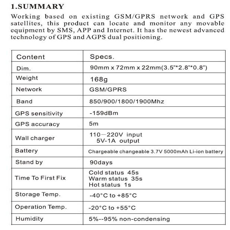 Купить 2016 Новый Горячий TKSTAR TK905 Водонепроницаемый IP 66 Автомобиля GPS трекер Грузовик Человек 90 Дней Длительным Временем ожидания Мощный Магнит срок службы