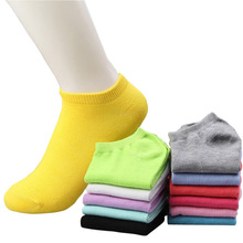 Buy 20pcs=10pairs/lot women cotton socks summer cute candy color boat socks ankle socks woman thin sock slippers s04 for $6.72 in AliExpress store