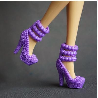 90 totally different types for select Colourful Assorted Informal Excessive heel footwear for Barbie 1:6 Doll Trend Cute Latest A