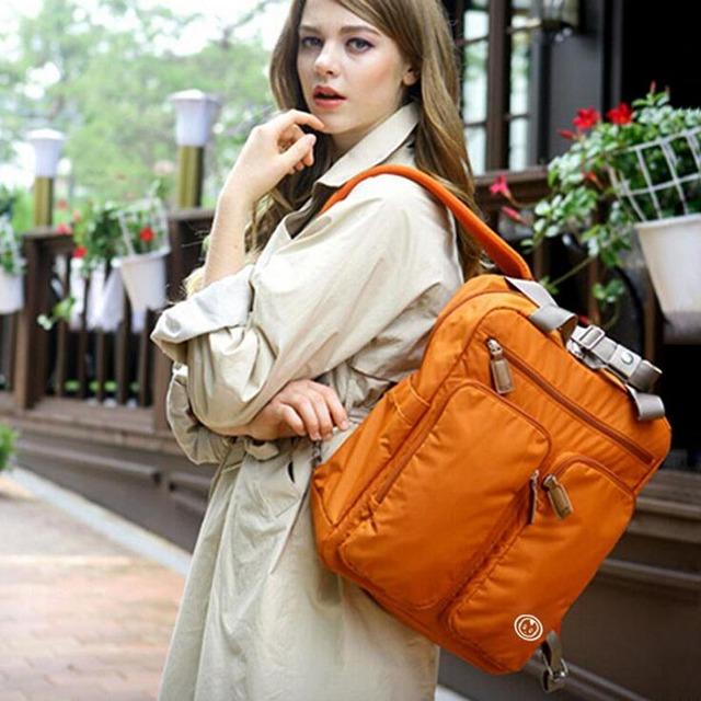Мода многофункциональный мама рюкзак пеленки водонепроницаемый мешок большой емкости ...