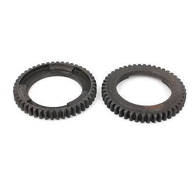 2Pcs Power Tool Repair Part Gear Wheel 46 T for Bosch 11210 Rotary Hammer(China (Mainland))