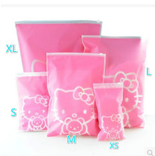 New Hot Wholesale Package Luggage Travel Accessories Pouch Pink Lovely concise Convenient travel Products Hello Kitty(China (Mainland))