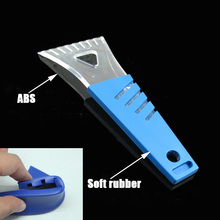 Free Shipping Auto Vehicle Snow Ice Shovel Scraper Car Mini Emergency Removal Clean Tool(China (Mainland))