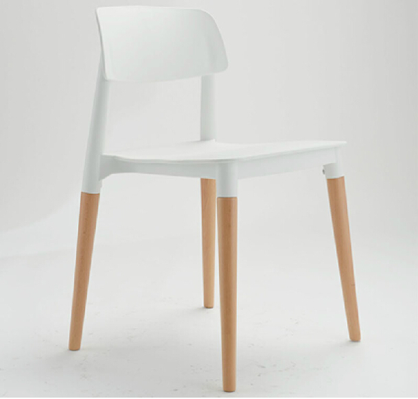 Free Shipping Cafe Plastic Chair In Dining Chairs From