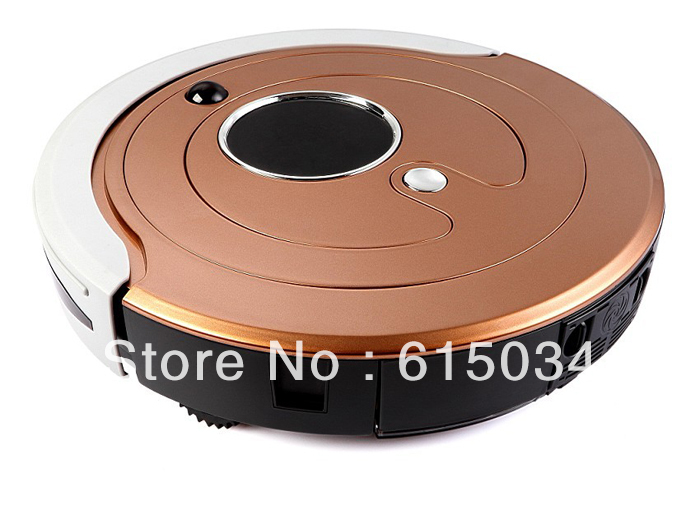 Free Shipping For Singapore Buyer /Most Advanced Li-ion Battery Multifunction Robot Vacuum Cleaner Robot,Schedule,Self Recharge(China (Mainland))