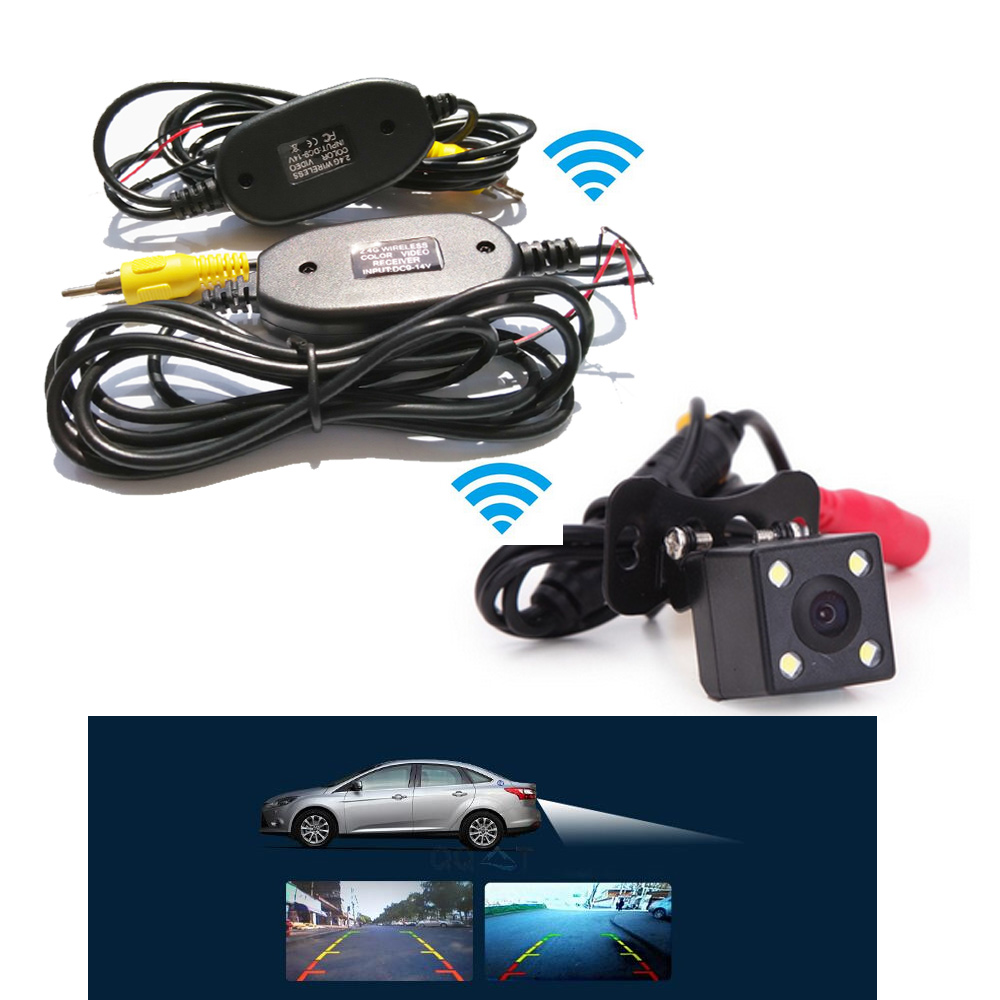 Wireless Rear View Camera 170 degree Anti Fog Waterproof Backup Night Vision Car Rear View Parking Camera Kit for Nissan Toyota(China (Mainland))