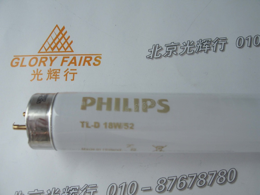 Philips TL-D 18W/52 18W fluorescent lamp,New born baby therapy neonatal jaundice,450nm treatment,TLD18W52 tube,equal TL 20W/52(China (Mainland))