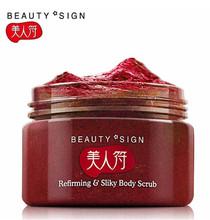 Meirenfu клубника отшелушивающие скраб для тела кожи и отбеливание скраб Body care 120 г C123(China (Mainland))