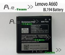 Lenovo A288T аккумулятор новый оригинал BL194 1500 мАч батарея Lenovo A298T A520 A660 A698T A690 A370 A530 в наличии бесплатная доставка