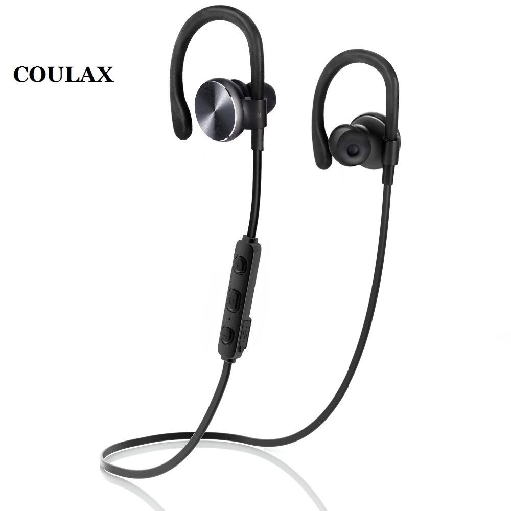 COULAX Bluetooth Headset Headphones Wireless Earphones Bluetooth Earphone with Microphone for iPhone Android Phone(China (Mainland))